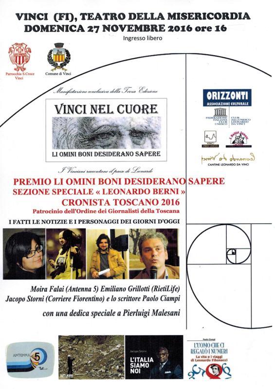 Vinci Nel Cuore - Manifesto 2016