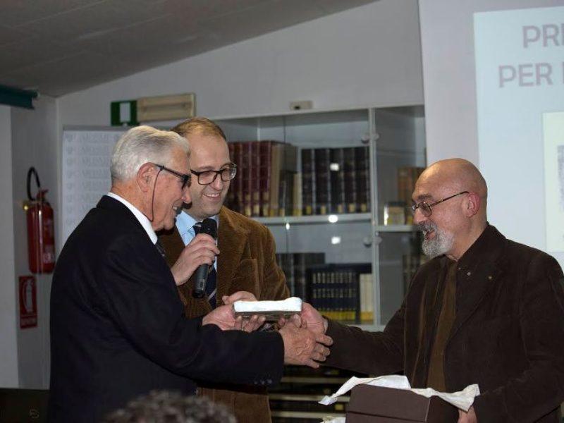Giulio Panzani, Premio Leonardo Berni premiato da Vittorio Berni