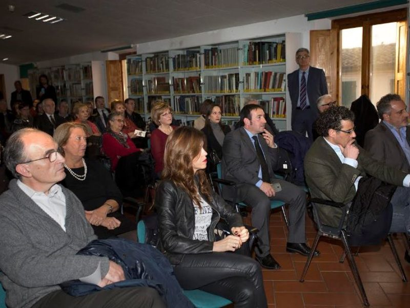 Massimo Mancini e il pubblico presente
