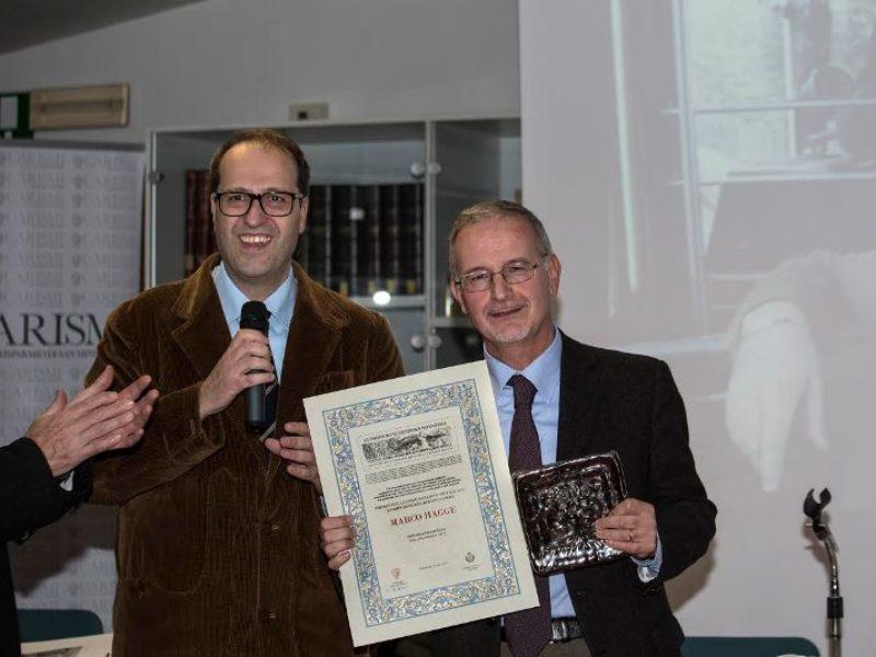 Premio a Marco Hagge