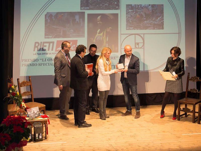 Consegna del Premio Speciale a RietiLIFE