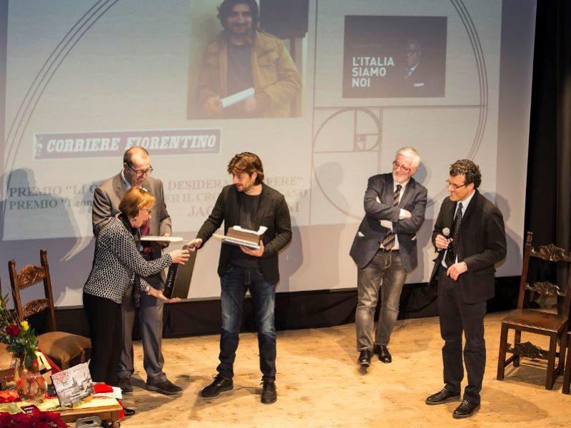 Premio Cronista Toscano a Jacopo Storni