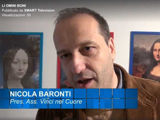 Li omini Boni, il presidente Nicola Baronti ad Antenna 50