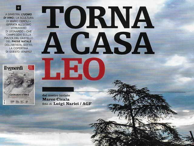 Vinci su 'Il Venerdì' di Repubblica, anche con le Cronache Vinciane di VnC