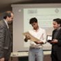 WikiPedro, Nicola Baronti (a sinistra) e l'assessore Paolo Santini.(foto: Domenico Alessi)