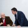 Marco Cipollini (a sinistra) e Paolo Santini, assessore alla cultura del Comune di Vinci) (foto: Domenico Alessi)
