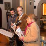 Da sinistra: Paolo Sani (referente Club Unesco di Vinci), Nicola Baronti (presidente di Vinci nel Cuore) e Alessandra Ulivieri (editrice Ibiskos Ulivieri) (foto: Domenico Alessi)