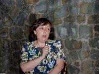 Gabriella Menichetti, ass. 'Amici di Claudio', La Stella (foto: Ivano Biscardi)