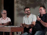Da sinistra: Remo Borchi, Christian Santini e Antonio Fanelli (foto: Roberto Messina)