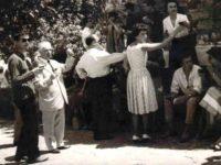 La prima visita degli studenti d'arte di Colonia, Anchiano 1960 (Collezione Francesco Cianchi da Vinci nel Cuore)