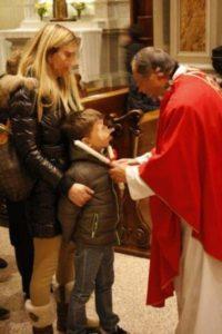 Benedizione della gola per San Biagio