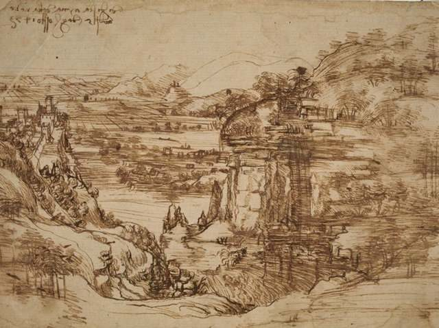 Vinci, com'era descritta nel XIX secolo