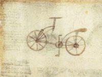 Lo schizzo della bicicletta