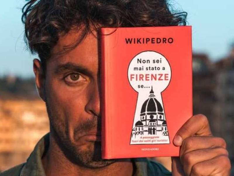 WikiPedro torna a Vinci e incontra Leonardo