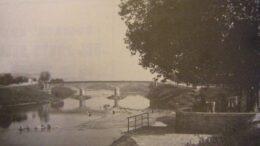 Il ponte sull'Arno fra Empoli e Spicchio