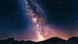 Cielo stellato notturno