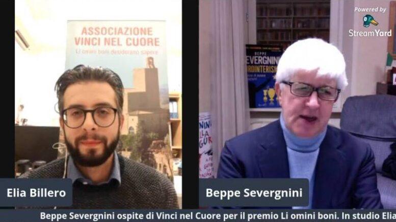 Elia Billero e Beppe Severgnini