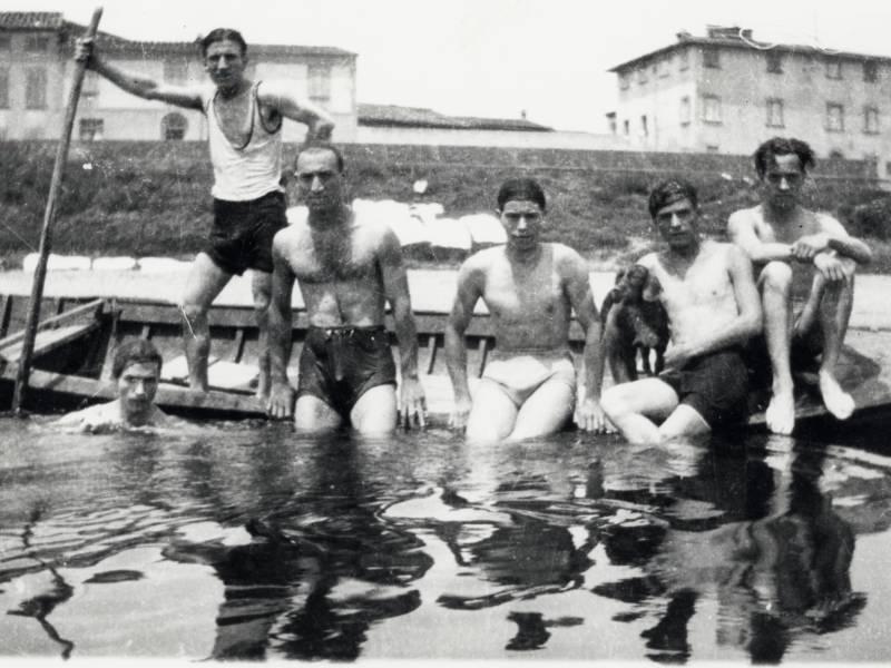 Bagno in Arno. Foto: Paolo Santini