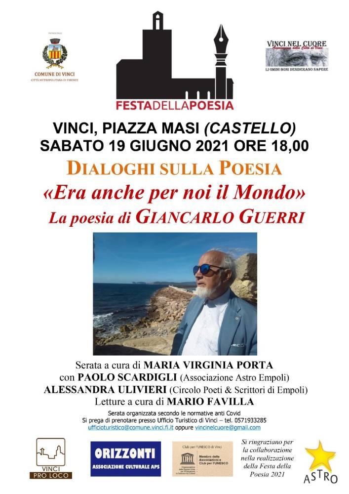 Festa della Poesia - Giancarlo Guerri